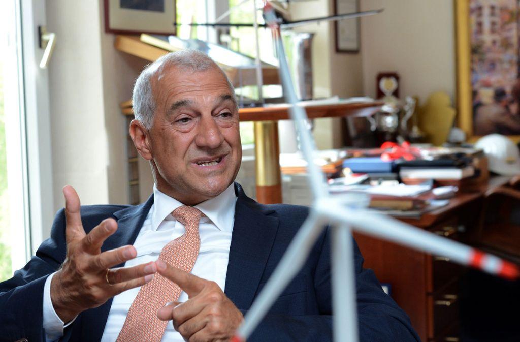 Seit zwei Jahren unter Anklage: Ex-Windreich-Chef Willi Balz weist die Vorwürfe zurück Foto: dpa