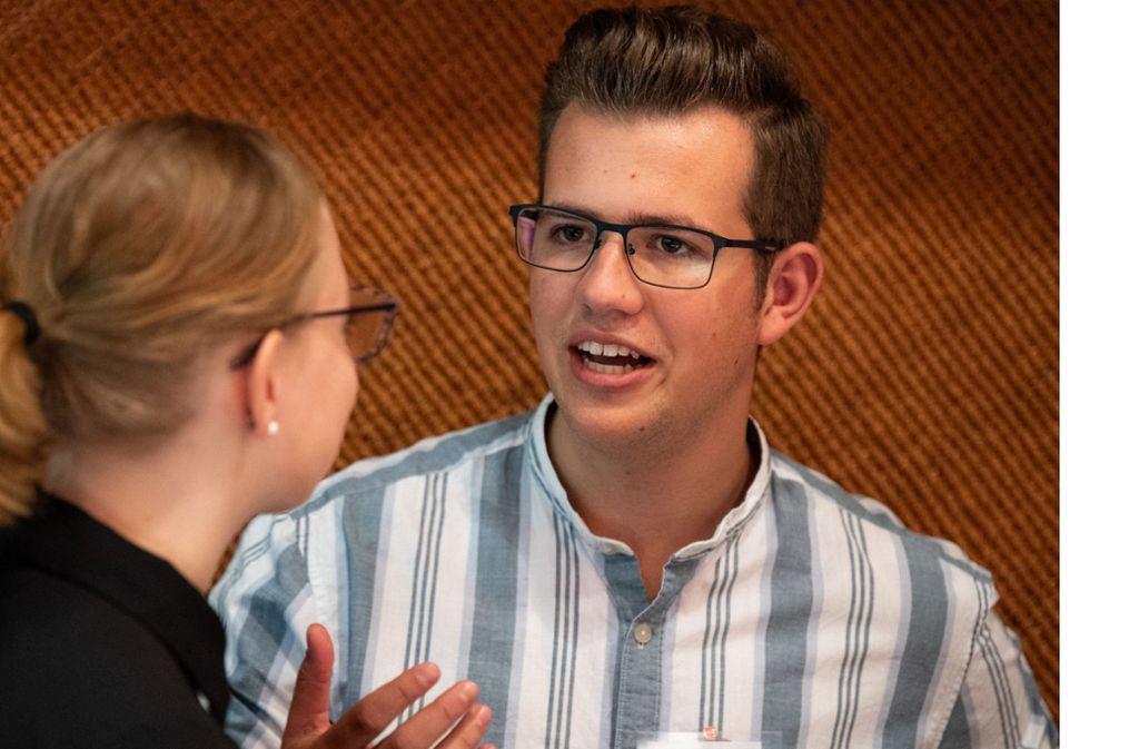 Pavlos Wacker ist der Vorsitzende der Jusos – der Jugendorganisation der SPD – in Baden-Württemberg. Unsere Bilderstrecke zeigt, wer die  19 Menschen sind, die aktuell für den SPD-Vorsitz kandidieren wollen. Foto: dpa