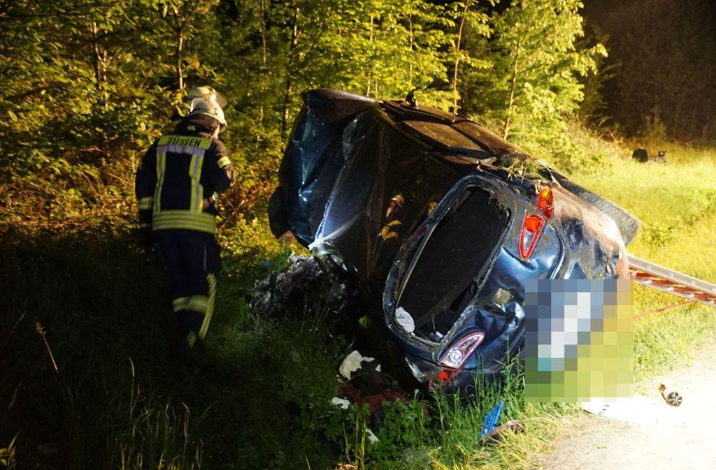 Der 30-jährige Unfallfahrer war laut Polizeiangaben betrunken. Foto: SDMG/SDMG / Woelfl