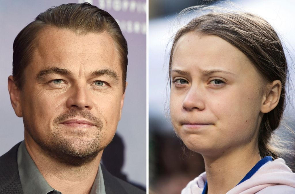 DiCaprio postete Fotos mit lobenden Worten über Thunberg auf seinem Instagram-Account. (Archivbild) Foto: dpa/Jordan Strauss