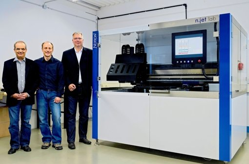 Elektronik aus dem Tintenstrahldrucker