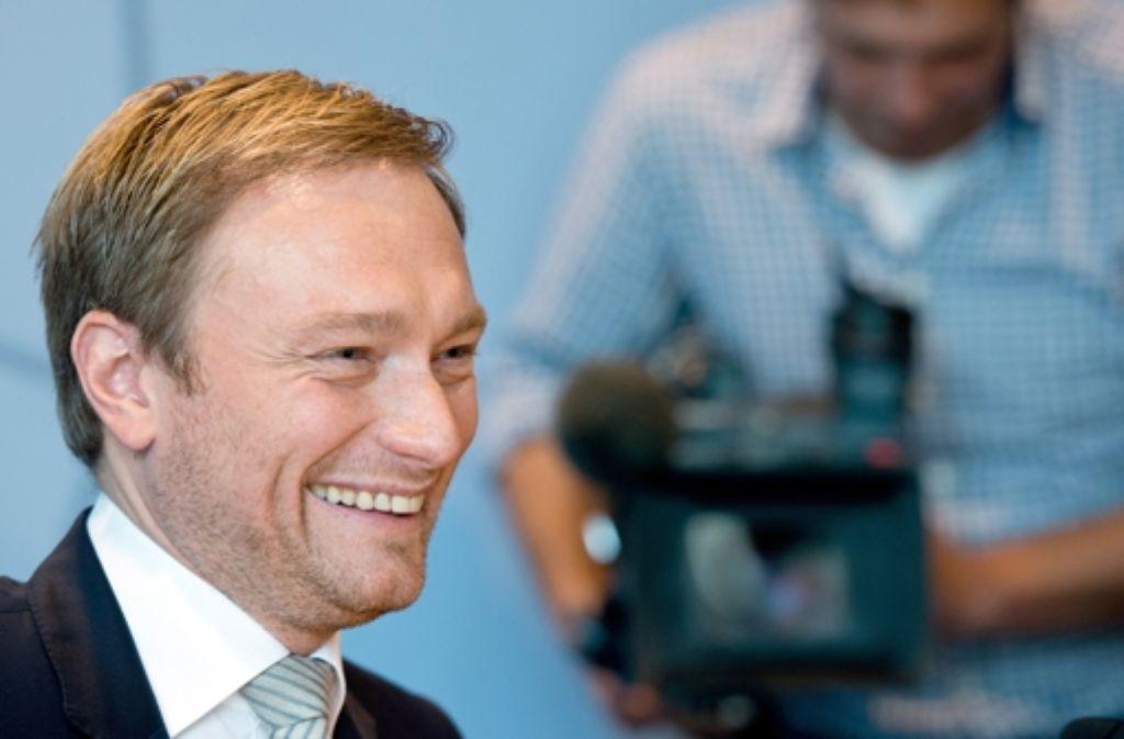 Christian Lindner soll seine Partei retten. Foto: