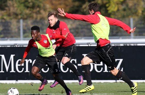 Vier Profis fehlen beim VfB-Training