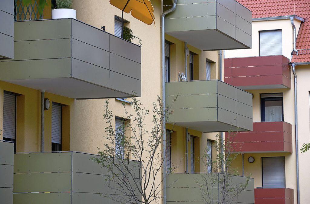 In Deutschland ist die Zahl der Sozialwohnungen erneut zurückgegangen. Foto: dpa