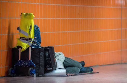 200 zusätzliche Obdachlose in zwölf Monaten