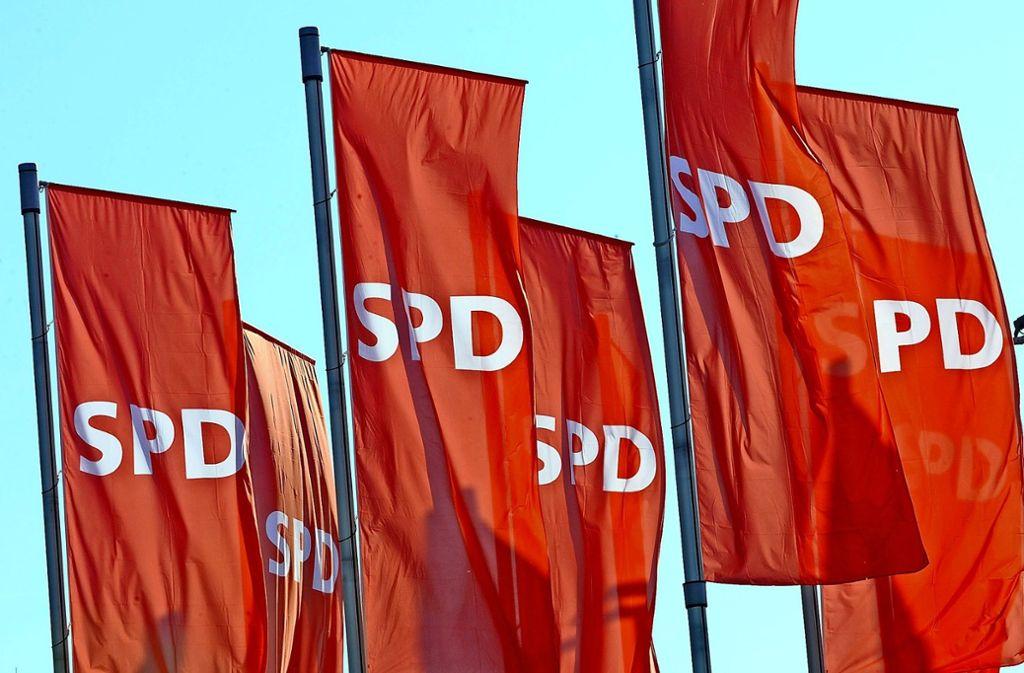 Nur bei den Mitgliederzahlen befindet sich die SPD derzeit im Aufwind Foto: dpa