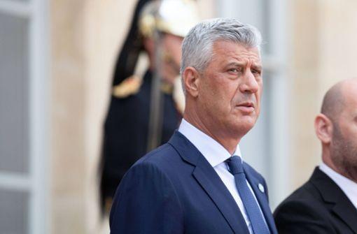 Kosovos Präsident tritt nach Kriegsverbrechen-Anklage zurück