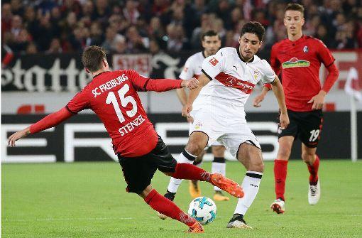 Berkay Özcan drückt der Partie seinen Stempel auf