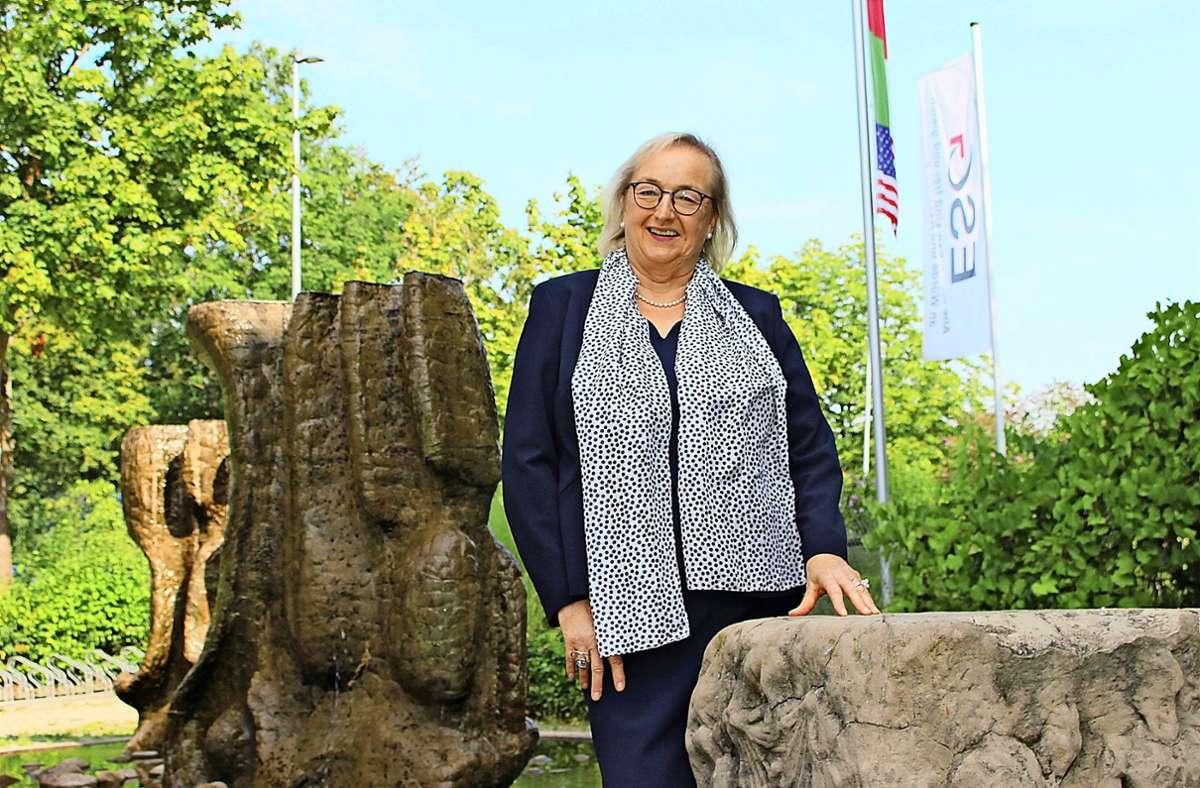 Die Rektorin Ursula Bauer wollte sich eigentlich schon vor zwei Jahren  verabschieden. Doch es fand sich kein Nachfolger. Das hat sich leider nicht geändert. Foto: Caroline Holowiecki
