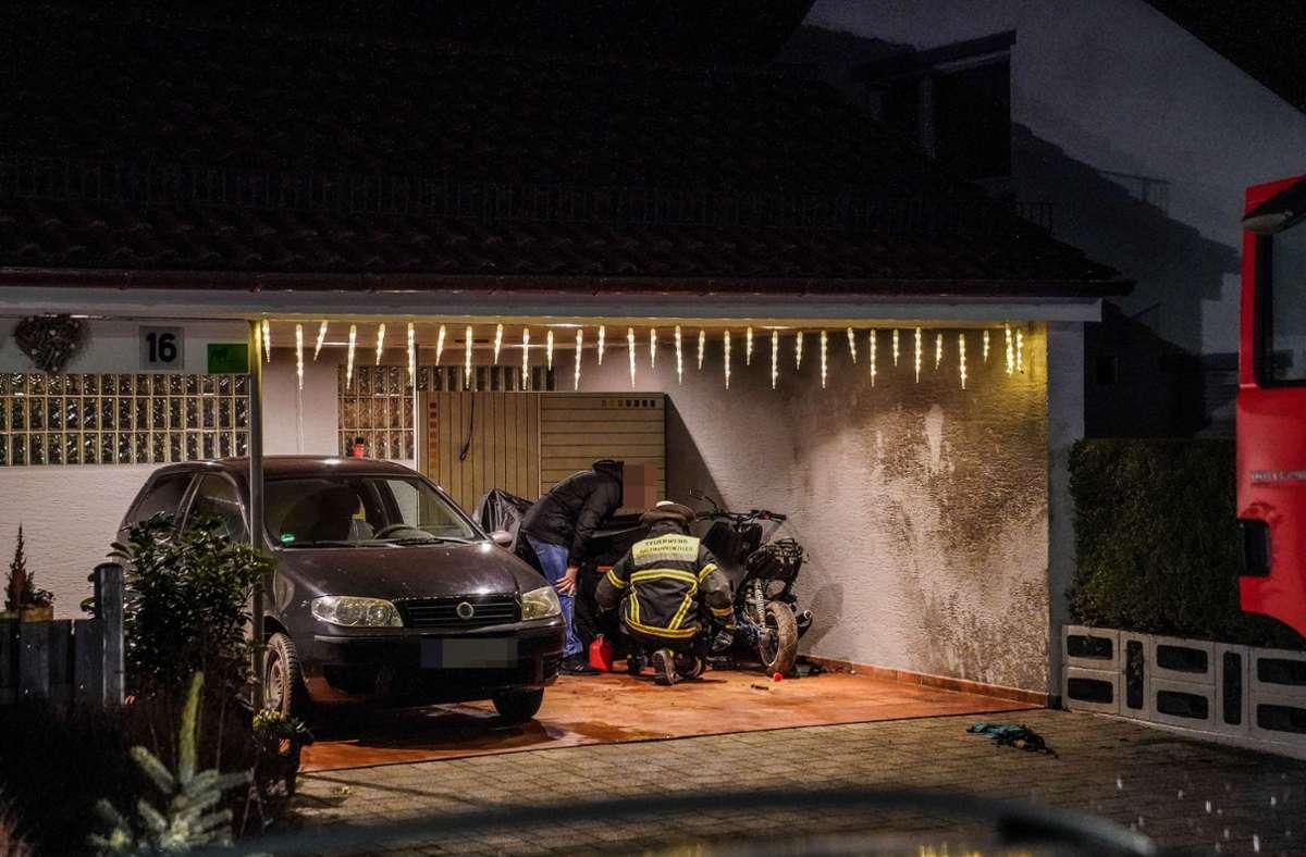 Ein 14-Jähriger hat sich beim Schrauben an einem Motorroller schwer verletzt. Foto: SDMG/ / Kohls