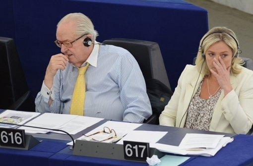 Front National bricht mit Gründer Le Pen