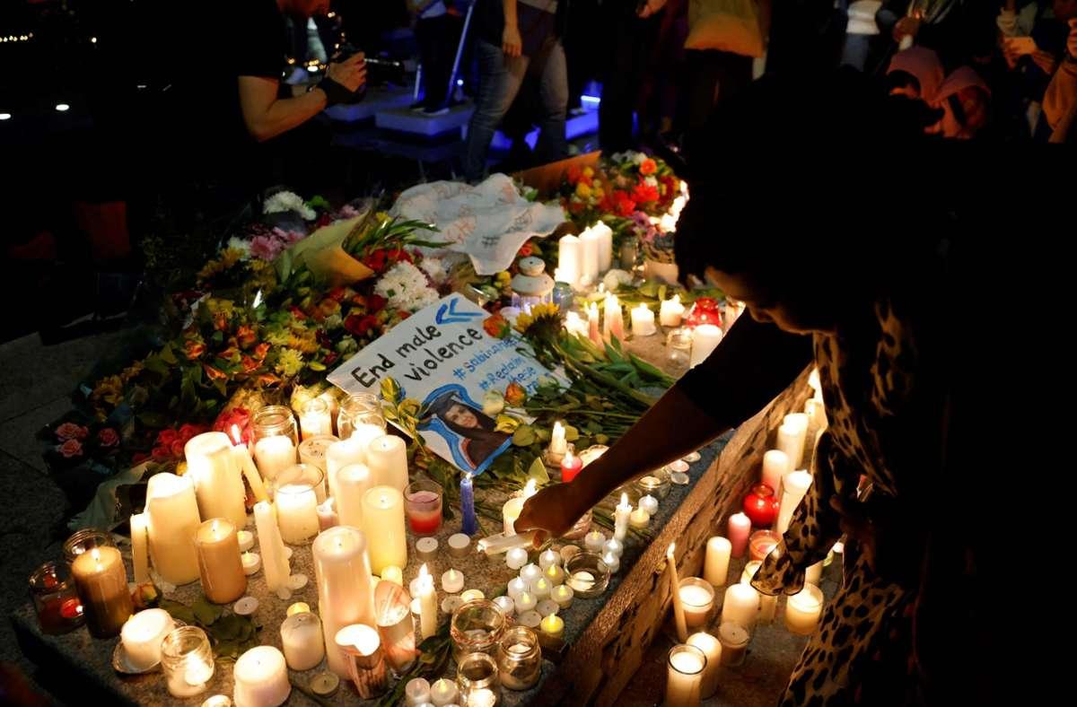 Nach der Ermordung gab es am Freitag eine Mahnwache in London. Foto: AFP/TOLGA AKMEN