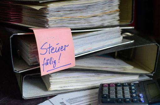 Weniger Klagen gegen Steuerbescheide