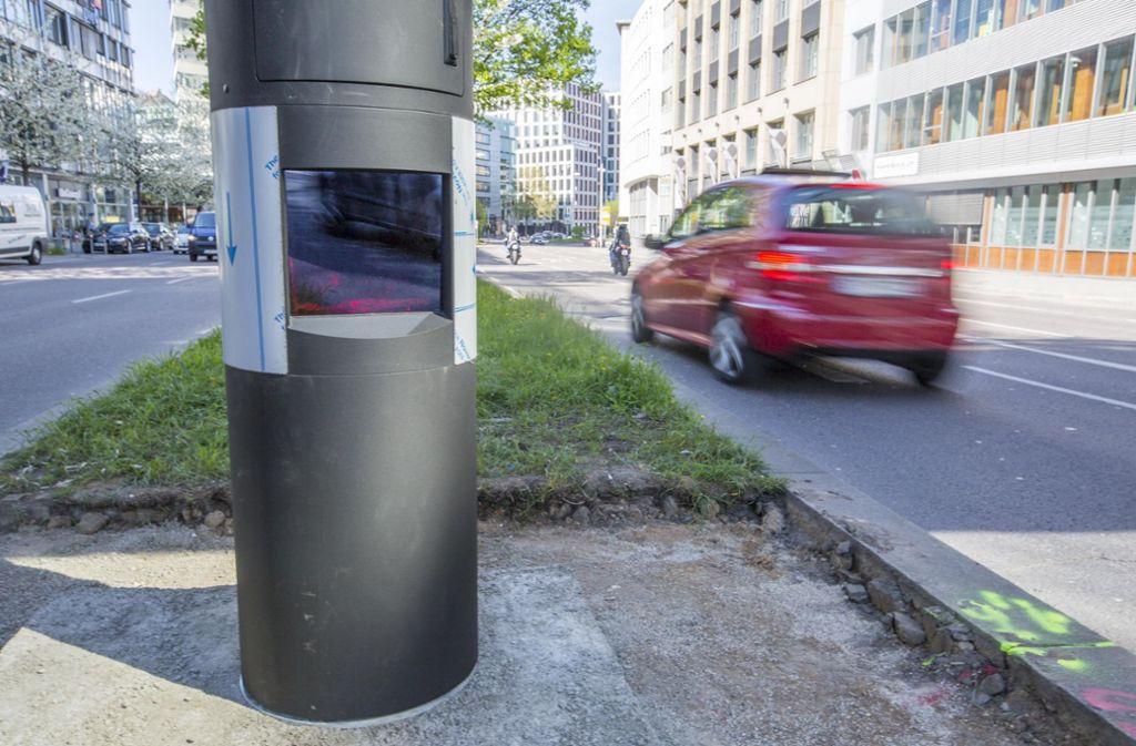 An der Theodor-Heuss-Straße blitzt es nicht mehr ganz so oft. Foto: 7aktuell/Simon Adomat