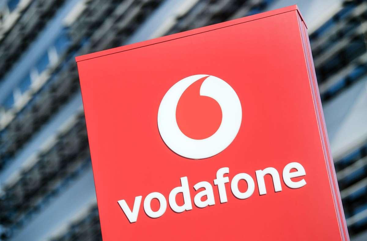 Kunden von Vodafone haben über Netzprobleme geklagt. (Symbolbild) Foto: dpa/Federico Gambarini