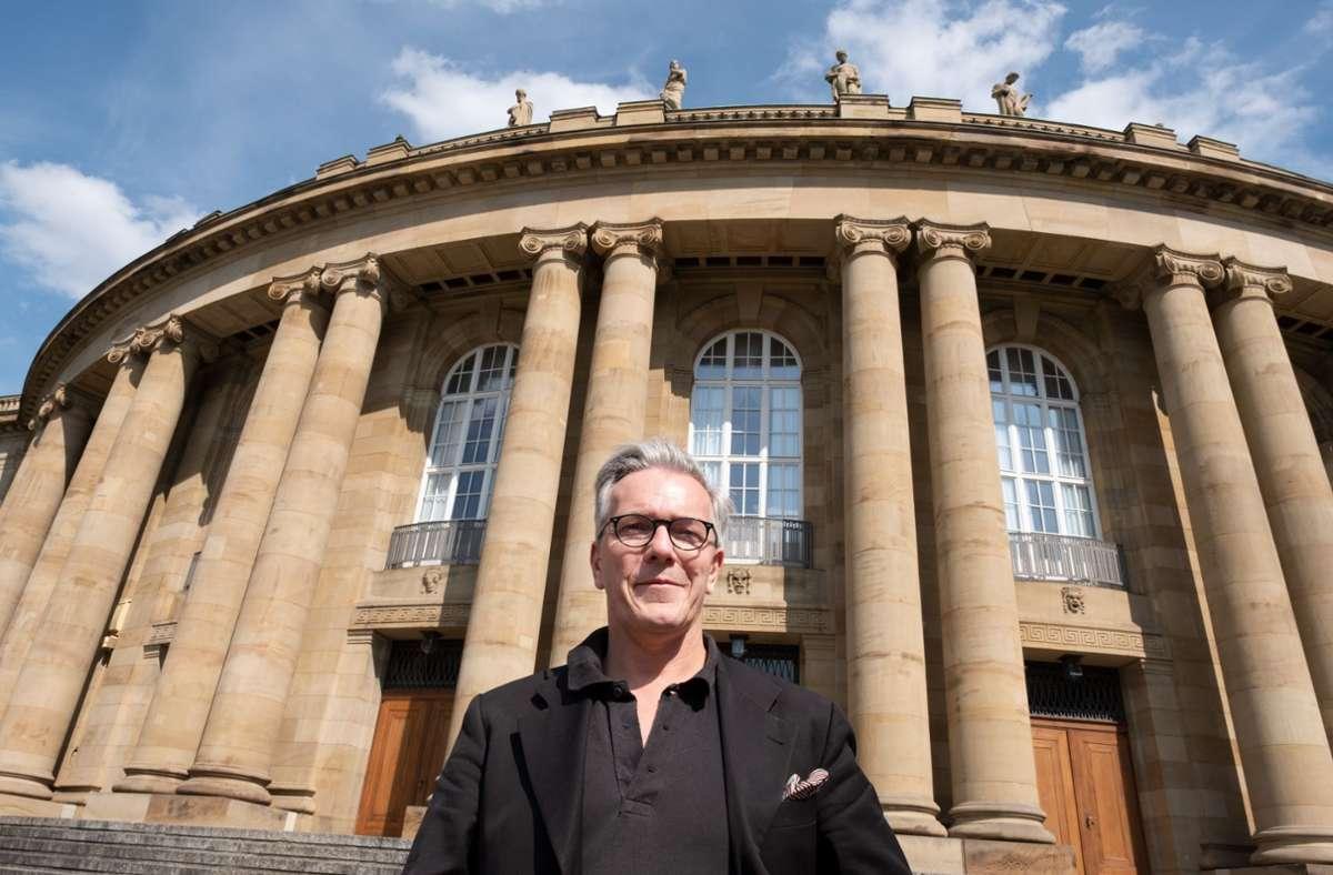 Endlich wieder Theater: Marc-Oliver Hendriks zieht eine positive Bilanz Foto: dpa/Bernd Weissbrod