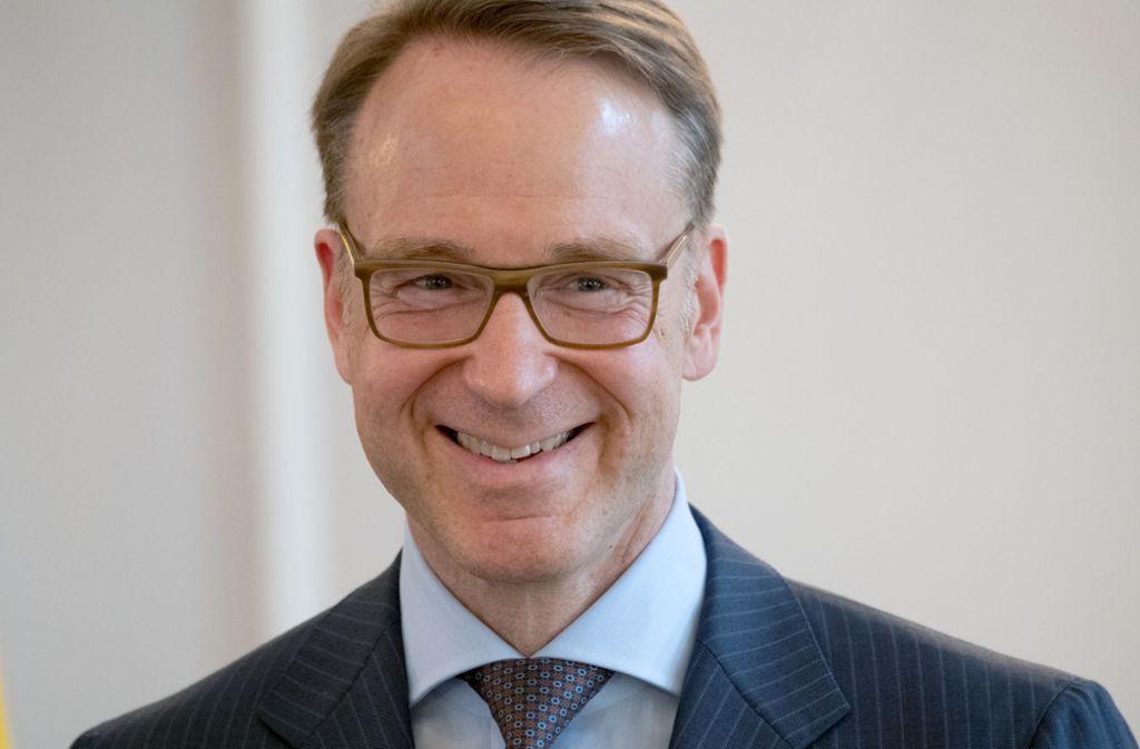 Bundesbankchef Jens Weidmann plädiert für eine Straffung der Geldpolitik. Foto: dpa