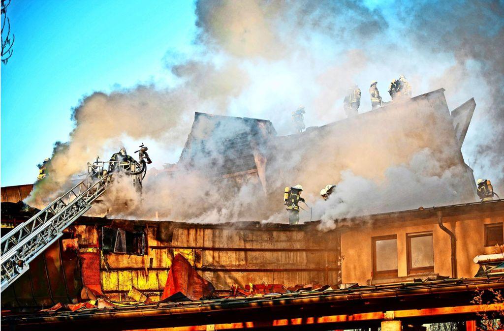 Im März vergangenen Jahres hat ein inzwischen verurteilter Brandstifter am Waiblinger Bürgerzentrum einen Millionenschaden angerichtet. Foto: Gottfried Stoppel