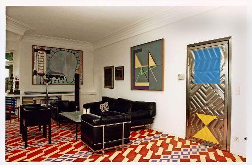 Blick ins Wohnzimmer der Hajek-Villa. Heute ist der Raum vollständig ausgebeint. Foto: Robert Thiele