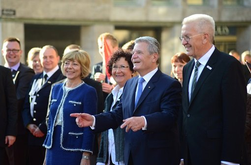 Gauck weist neuer Bundesregierung den Weg