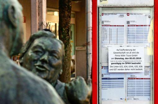 Wöhr-Mitarbeiter streiken  zum ersten Mal