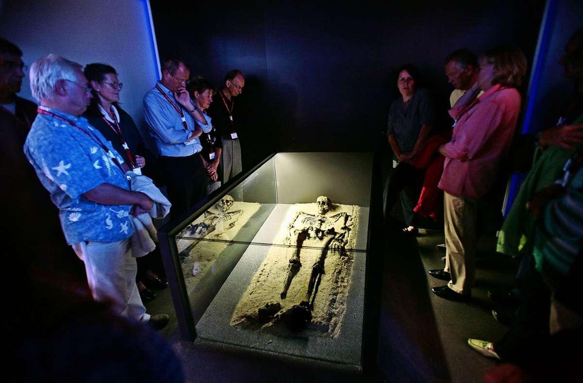 Wie werden die sterblichen Überreste des Keltenfürsten präsentiert? Auch das ist eine Zukunftsfrage, mit der sich das Museum beschäftigt. Foto: Archiv/factum/Weise