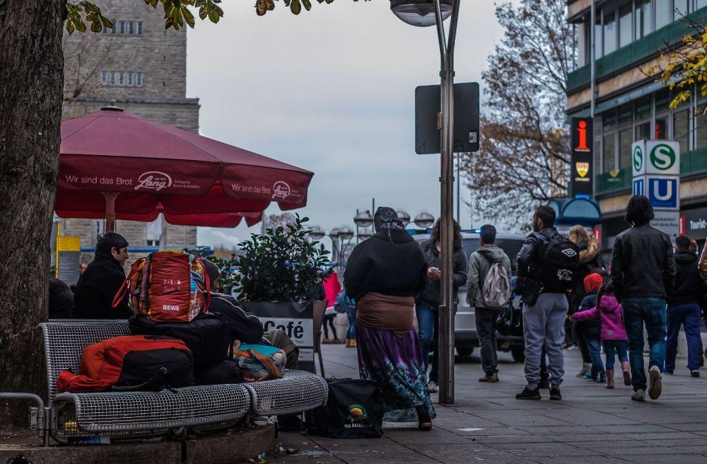 Die Stadt Stuttgart plant Bänke an der Königstraße zu verlegen. Foto: Lichtgut/Max Kovalenko