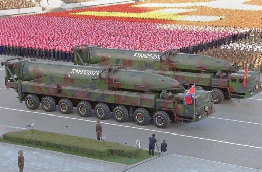 Atomschlag gegen USA und Südkorea angedroht