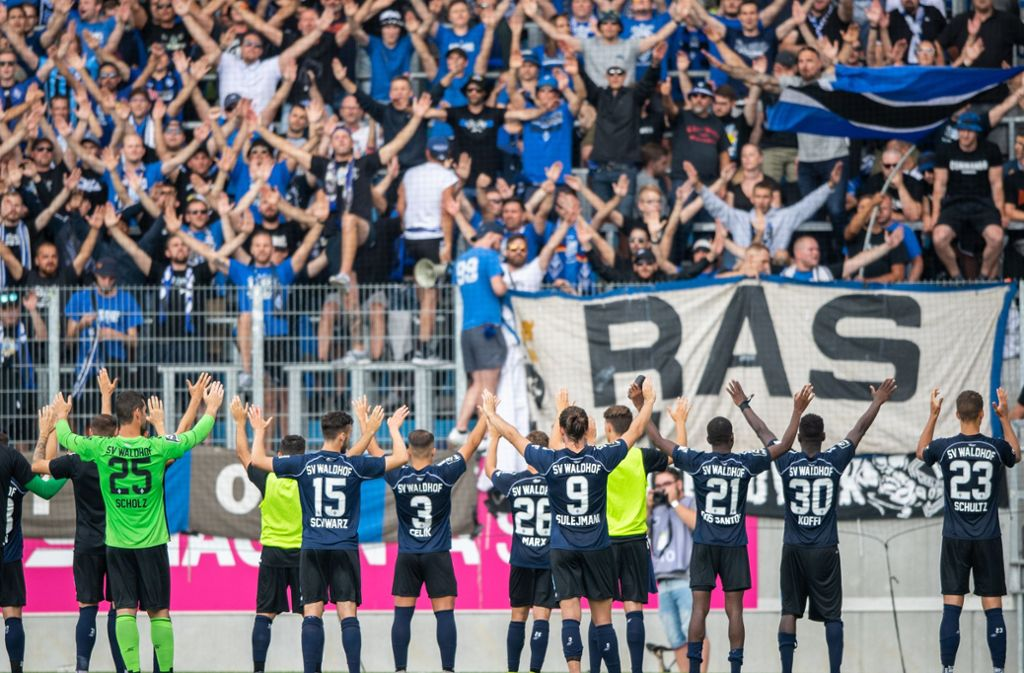 Waldhof Mannheim spielt in dieser Saison in der 3. Liga. Foto: dpa