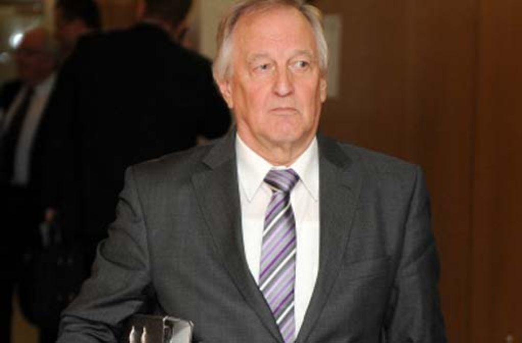 Landtagspräsident Peter Straub (CDU) kann sehr eigenwillig und stur sein. Erst das Verwaltungsgericht ließ ihn im Dauerstreit über eine Rechtsfrage nun einlenken. Foto: dpa