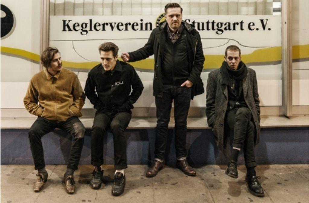 Die Stuttgarter Band Human Abfall erhält den Zukunftspreis des Popbüros. Weitere Preisträger des Music Award Region Stuttgart zeigt die folgende Fotostrecke. Foto: Promo