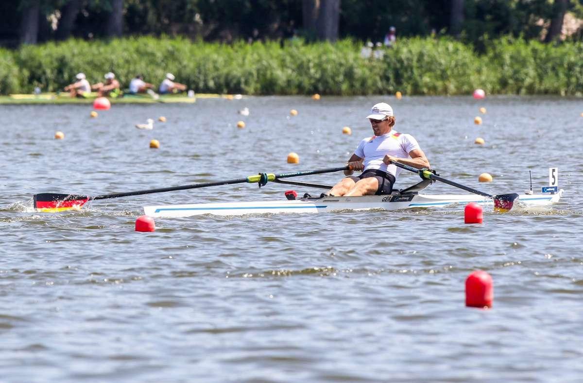 Florian Roller in Aktion – ohne Sport kann er nicht leben. Foto: imago/Olimpik