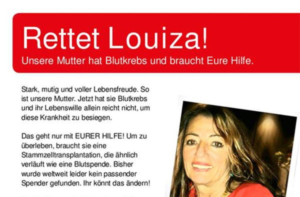Die Stuttgarterin Louiza Makridou ist an Leukämie erkrankt. Ihre Familie hat eine Typisierungsaktion organisiert, die am 28. Juni von 13 bis 18 Uhr im Kursaal Bad Cannstatt stattfindet. Foto: www.facebook.com/ntina.mcreedo