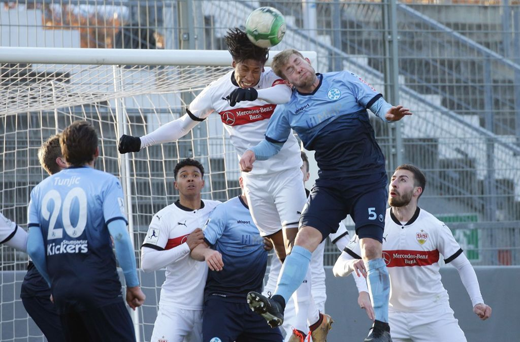 Der VfB Stuttgart II hofft im Regionalligaspiel gegen den 1. FC Saarbrücken auf einen Heimsieg. Foto: Baumann