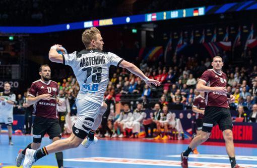 Deutsche Handballer ziehen in Hauptrunde ein