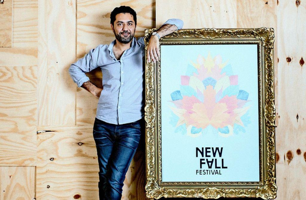 Hamed Shahi Moghanni  bringt das New Fall Festival im Oktober nach Stuttgart. Foto: Susanne Diesner