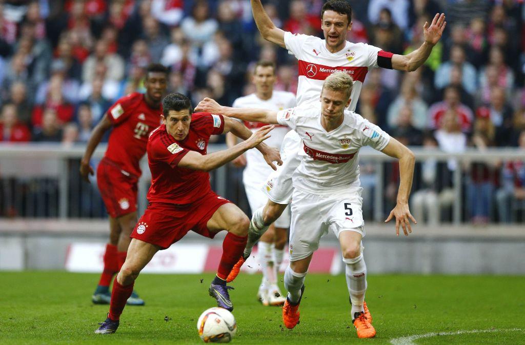 Nach einem Jahr Pause trifft der VfB Stuttgart in dieser Saison wieder auf den FC Bayern – und zwar am 16. Dezember, 15.30 Uhr. Foto: AP