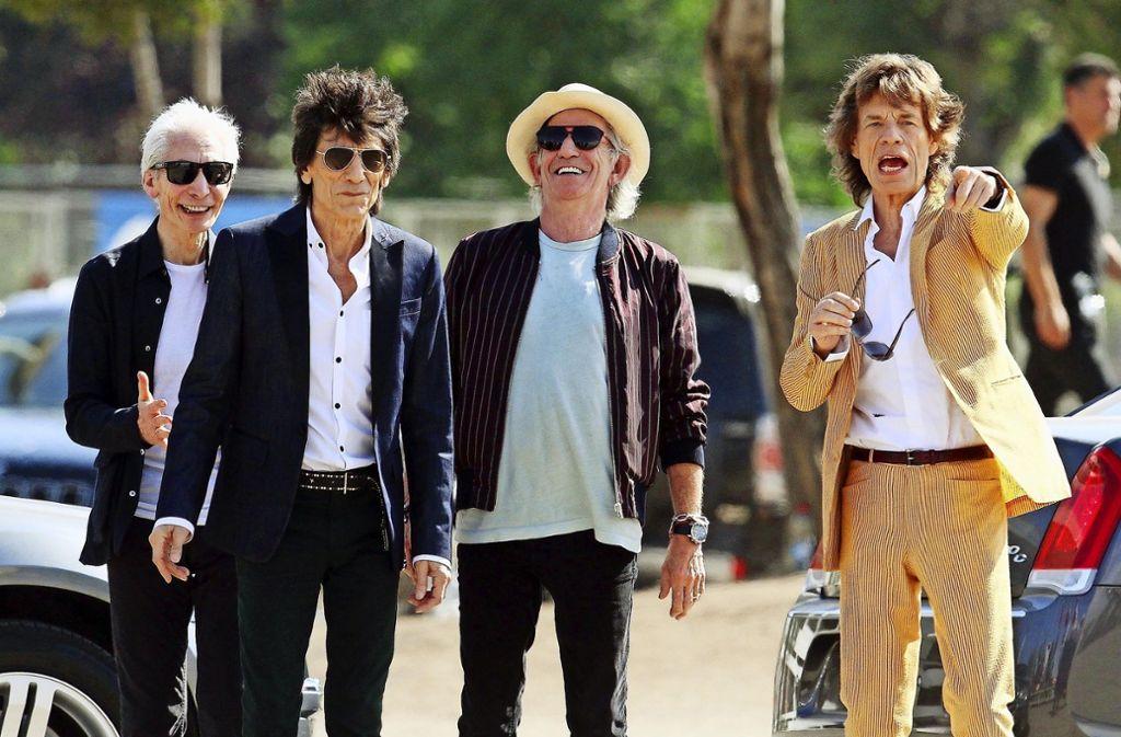 Diesmal nicht schon nach vier Tagen ausverkauft: Für die  Rolling Stones  am 30. Juni  in der Mercedes-Benz-Arena gibt es auch drei Wochen nach Vorverkaufsstart noch Karten. Foto: dpa