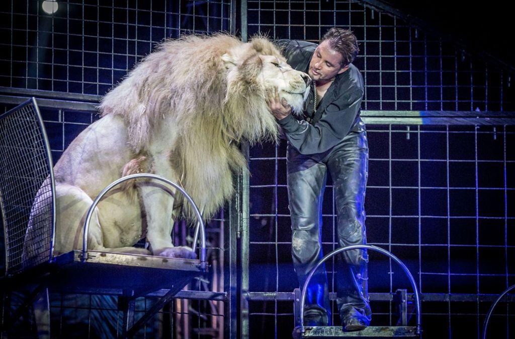 Der Circus Krone darf nächstes Jahr mit einer Wildtiernummer in Ulm auftreten. (Archivbild) Foto: Lichtgut/Julian Rettig