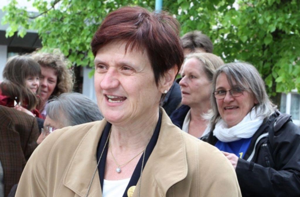 Oberbürgermeisterin Gabriele Dönig-Poppensieker tritt am 24. August kräftig in die Pedale. Foto: Yavuz Dural