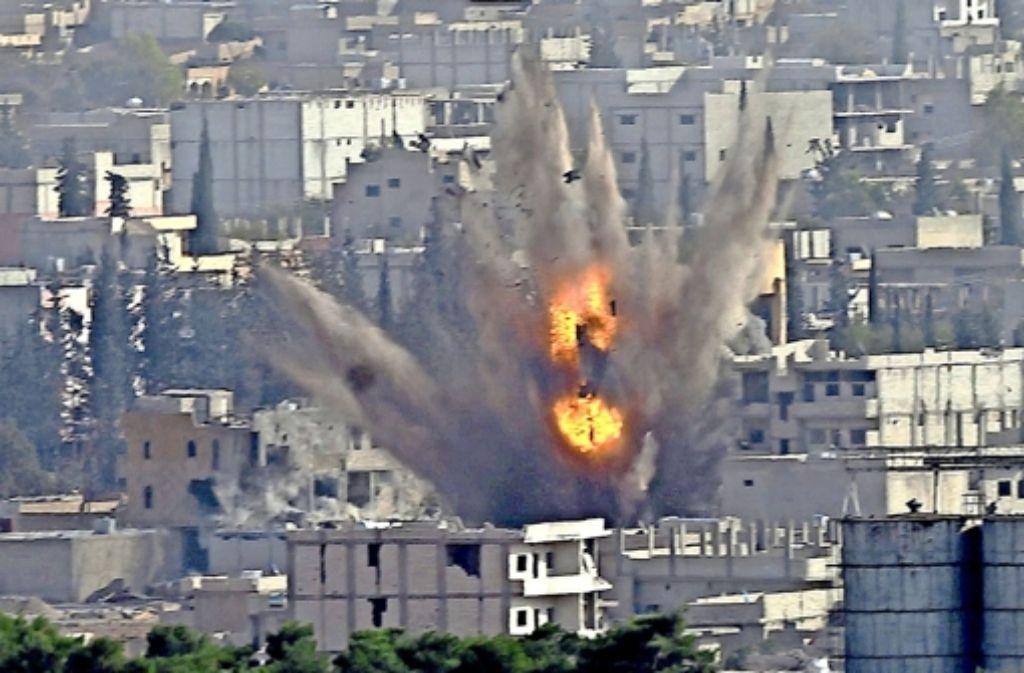 Die nordsyrische Stadt Kobane ist weiterhin hart umkämpft. Foto: dpa