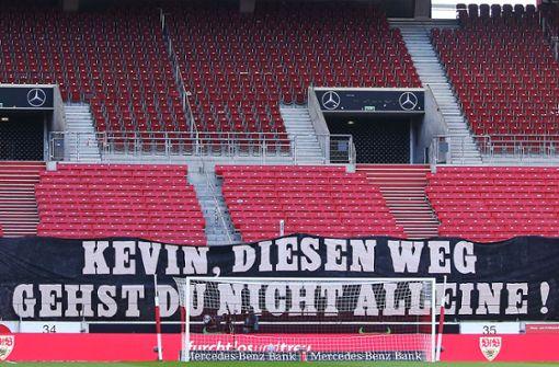 Grußbotschaft an erkrankten VfB-Fan