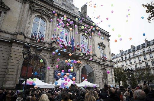 Frankreich gedenkt der Opfer des 13. November