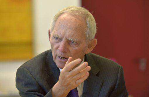 Wolfgang Schäuble kritisiert Franck Ribéry