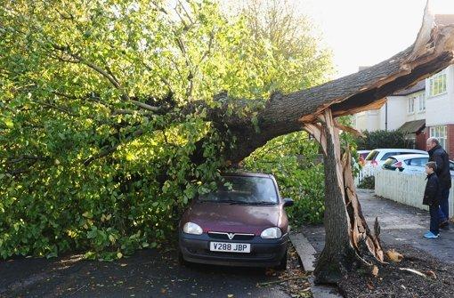 Sturm über Europa fordert viele Tote