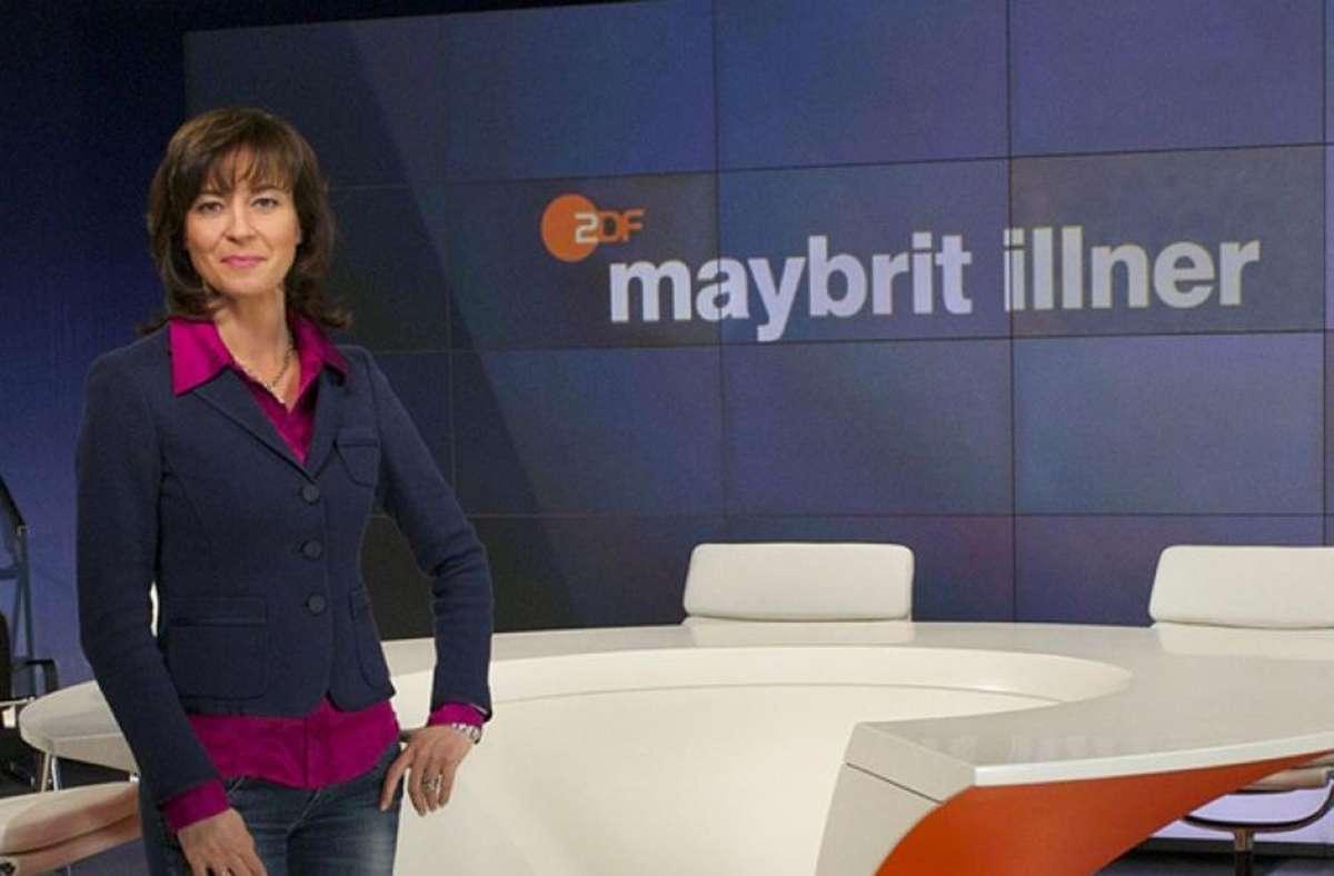 Maybrit Illner warf Markus Söder eine krasse Kehrtwende vor Foto: ZDF/ZDF