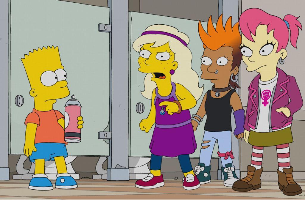 Bart Simpson hat auch in der 30. Staffel jede Menge Stress an der Schule und mit dem Rest der  Welt. Foto: Pro 7