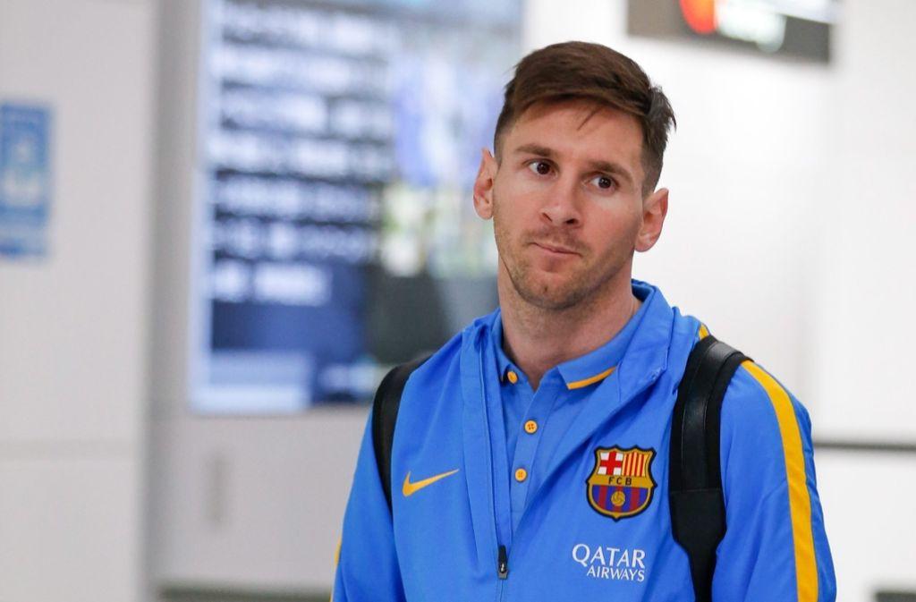 Der Name von Lionel Messi soll auch in den sogenannten Panama Papers aufgetaucht sein. (Archivfoto) Foto: dpa