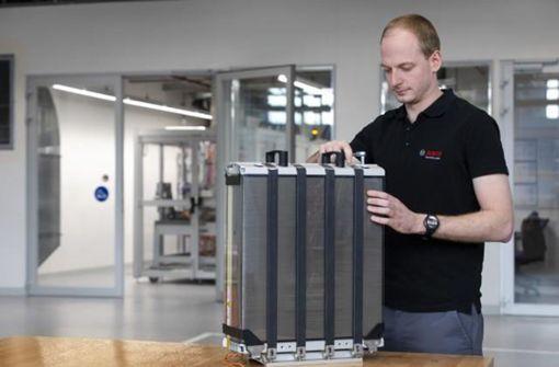 Bosch setzt auf Brennstoffzelle