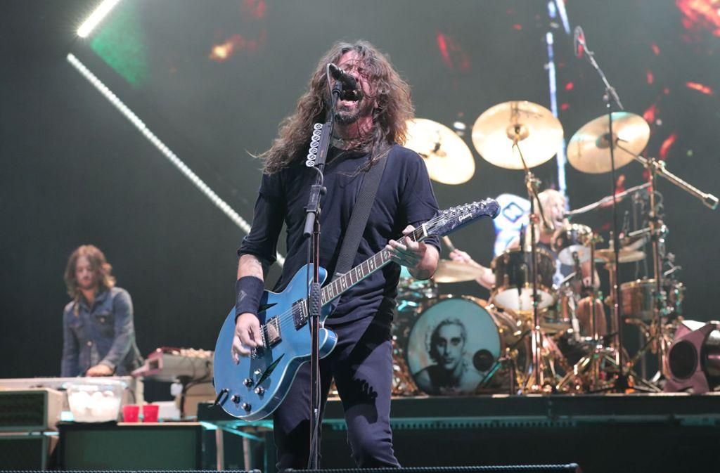 Dave Grohl und seine Foo Fighters zählen zu den Stars beim Southside-Festival 2019 Foto: GETTY